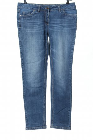 Blue Motion Slim jeans blauw casual uitstraling
