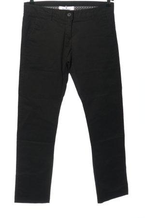 Blue Motion Pantalon en jersey noir style d'affaires