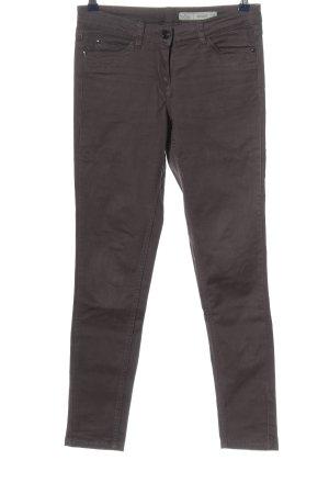 Blue Motion Jeans skinny gris clair style décontracté