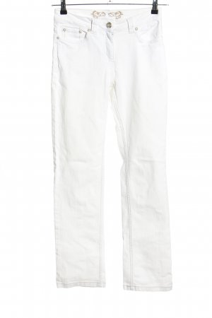 Blue Motion Straight-Leg Jeans weiß Casual-Look