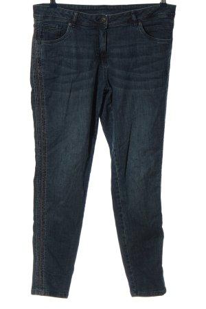 Blue Motion Jeans a gamba dritta blu stile casual