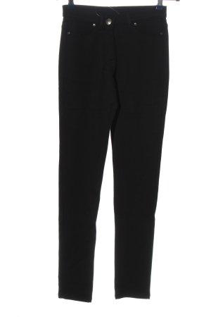 Blue Motion Spodnie ze stretchu czarny W stylu casual