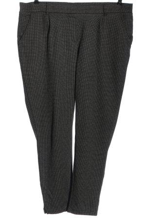 Blue Motion Pantalon en jersey noir-blanc style d'affaires
