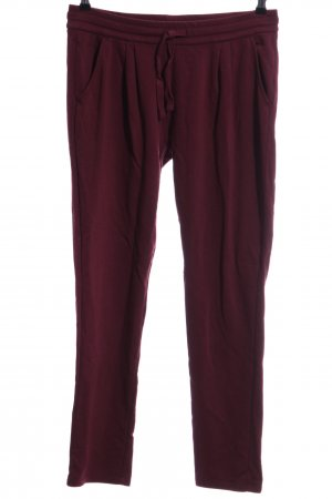 Blue Motion Joggingbroek rood casual uitstraling