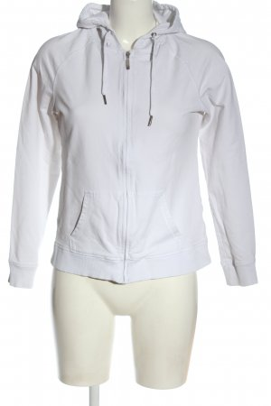 Blue Motion Sweatjack wit casual uitstraling
