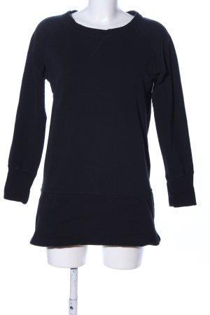Blue Motion Sweatshirt schwarz Casual-Look