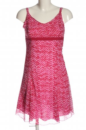 Blue Motion Robe à bretelles rose motif abstrait style décontracté