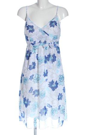 Blue Motion Robe à bretelles imprimé allover style décontracté