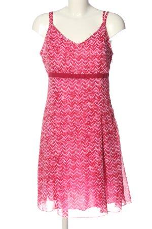 Blue Motion Robe à bretelles rose-blanc style décontracté