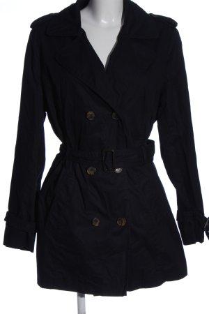Blue Motion Płaszcz przejściowy czarny W stylu casual