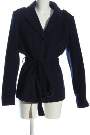 Blue Motion Płaszcz zimowy czarny W stylu casual
