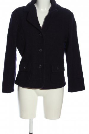 Blue Motion Wollmantel lila Casual-Look