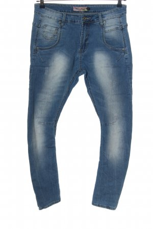 Blue Rags High Waist Jeans blau Casual-Look