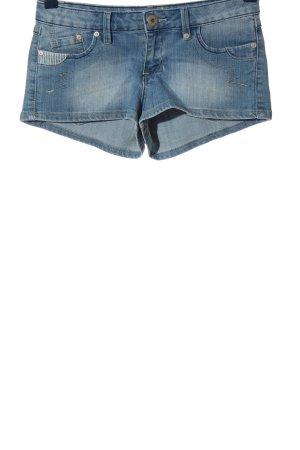 Blue Rags Short en jean bleu style décontracté