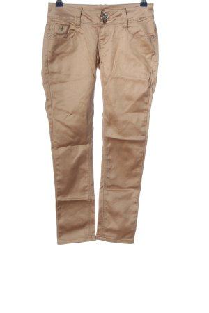 Blue Rags Pantalone a sigaretta bianco sporco stile casual