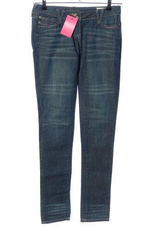 Blue Rags Jeans a sigaretta blu stile casual