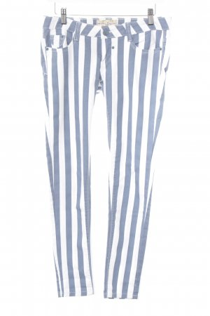 Blue Rags Jeans skinny bianco-blu acciaio Tessuto misto