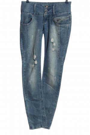 Blue Rags Straight-Leg Jeans blau Casual-Look