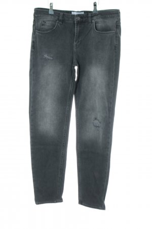 Blue Ridge Denim Boyfriendjeans hellgrau Casual-Look