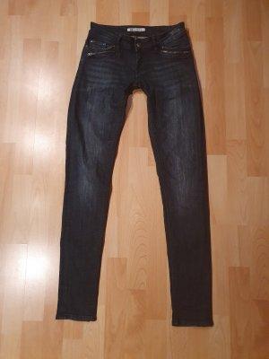 Blue Ridge Denim Slim jeans blauw-donkerblauw