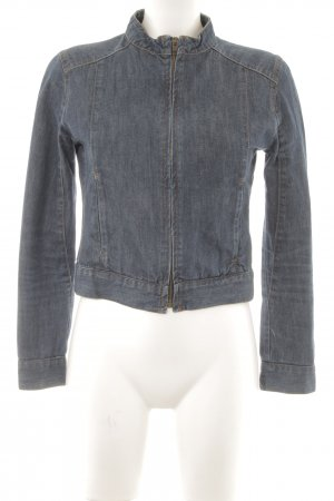 Blue Ridge Denim Jeansjacke dunkelblau Jeans-Optik