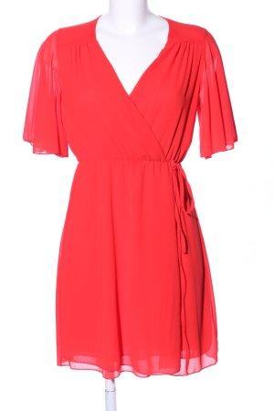 blue sand Chiffon jurk rood casual uitstraling