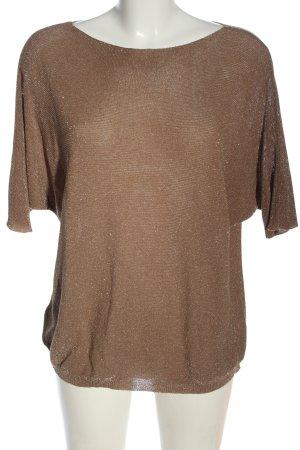 blue sand Bluzka oversize brązowy W stylu casual