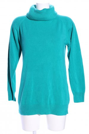 Blue Seven Turtleneck Sweater turquoise casual look