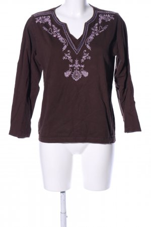 Blue Seven Shirt Tunic brown-lilac casual look