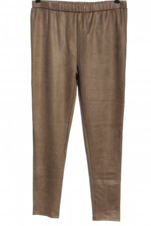 Blue Seven Jersey Pants brown wet-look