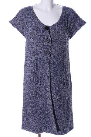 Blue Seven Strickjacke schwarz-hellgrau meliert Casual-Look