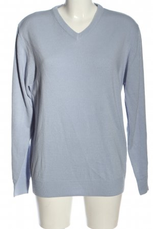 Blue Seven V-Neck Sweater blue casual look