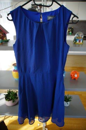 Apricot Robe trapèze bleu acier