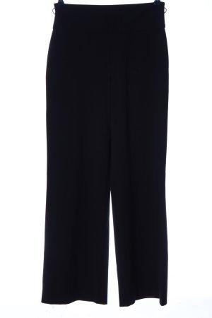 Blue Strenesse Luźne spodnie czarny W stylu biznesowym