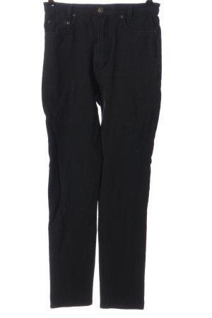 Blue Strenesse High Waist Jeans schwarz Casual-Look