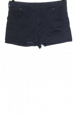 Blue Strenesse Hot Pants blue casual look