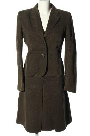 Blue Strenesse Ladies' Suit khaki business style