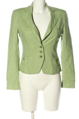 Blue Strenesse Kurz-Blazer grün Business-Look