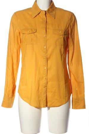 Blue Strenesse Koszula z długim rękawem jasny pomarańczowy W stylu biznesowym