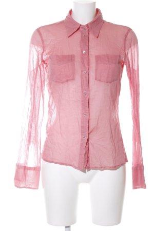 Blue Strenesse Langarmhemd pink Casual-Look