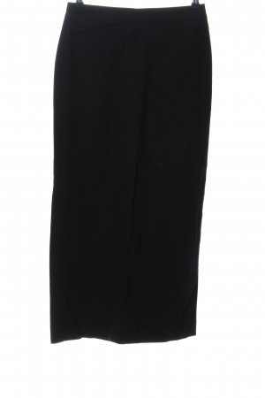 Blue Strenesse Spódnica maxi czarny W stylu casual