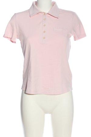 Blue Strenesse Koszulka polo różowy W stylu casual