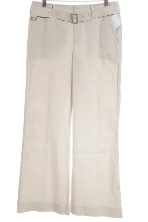 Blue Strenesse Schlaghose beige Casual-Look