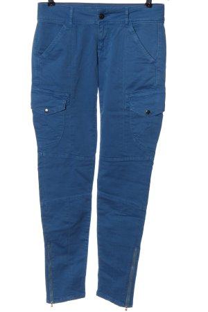Blue Strenesse Stoffhose blau Casual-Look
