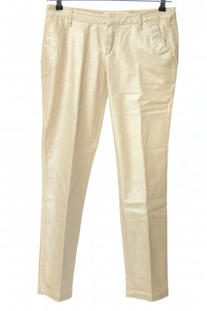 Blue Strenesse Stoffhose goldfarben Casual-Look