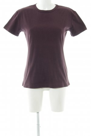 Blue Strenesse T-Shirt lila Casual-Look
