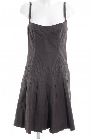 Blue Strenesse Pinafore dress brown casual look