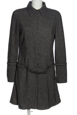 Blue Strenesse Woolen Dress black-white casual look