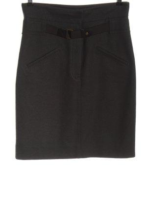 Blue Strenesse Wollen rok zwart casual uitstraling