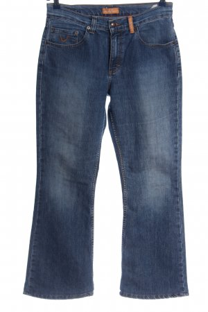 Blue Vision Denim Flares blue casual look